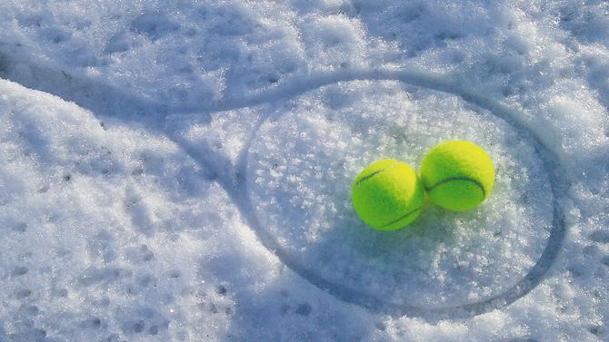 """Ab sofort: """"Tennis Schnuppertraining"""" für Kinder ab 5 Jahre in unserer kleinen Halle"""