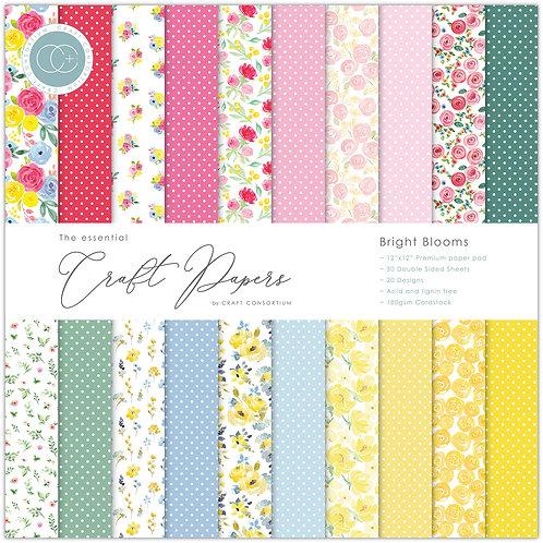 Papier 30.5 x 30.5 cm Bright Blooms