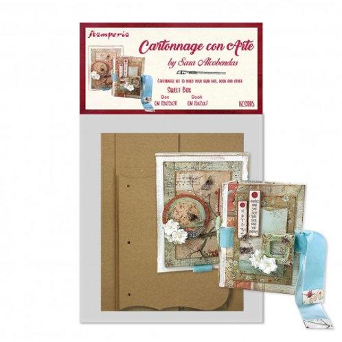 kit stamperia  sweet box