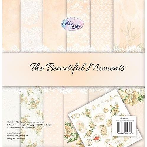 Papiers 30,5 x 30,5 cm beautiful moments