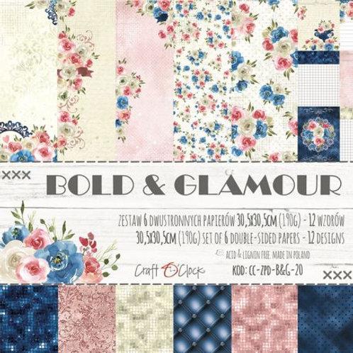 Papier 30,5 x 30,5 cm bold & glamour