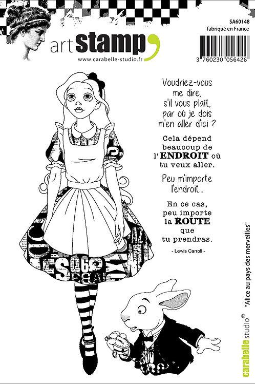 Tampon Alice au pays des merveilles