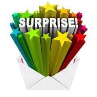 Box surprise lot de 6 blocs papiers surprise 30x30 cm envoi le 30 du mois
