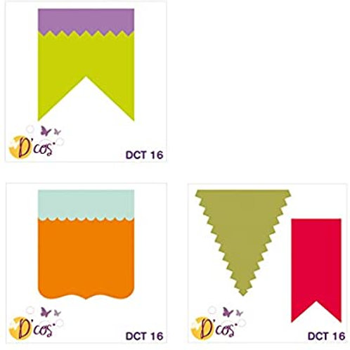 lot de trois matrice de decoupe formes DCT16
