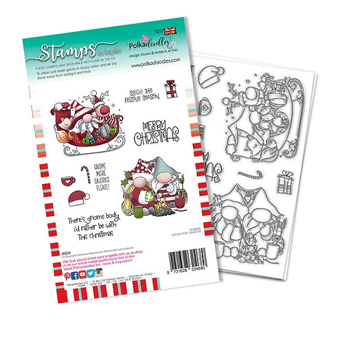 Clear Polka doodles PD8098A