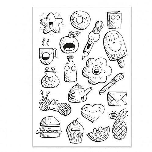 Tampons doodles