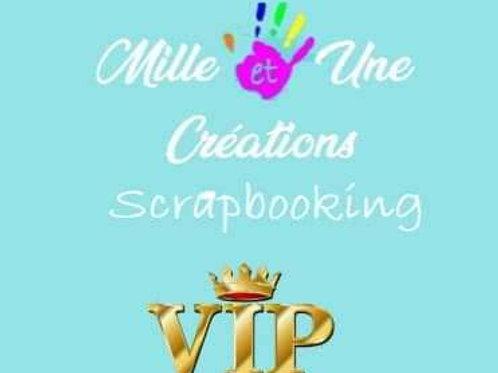Carte VIP annuelle