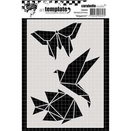Pochoir Origami #1