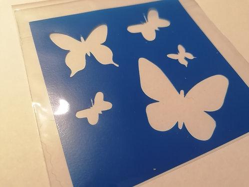 POCHOIR Papillons #MEUC