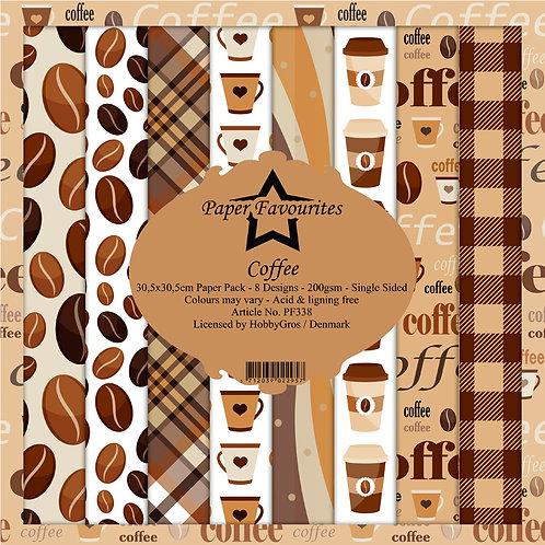 Papiers Paper Favourites 30,5 x 30,5 cm  coffee