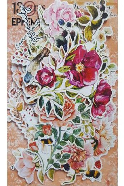 Die cuts 60 pieces Bloom
