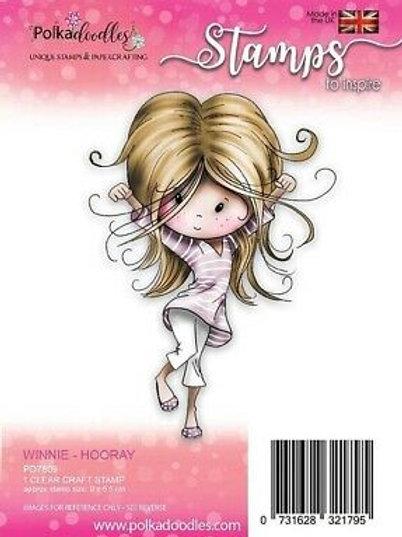 Tampon Polka doodles Hooray