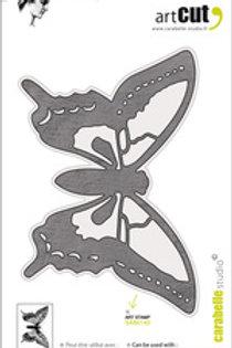 Matrice de découpe papillon