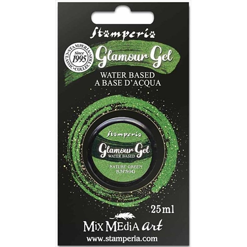 GLAMOUR GEL nature green