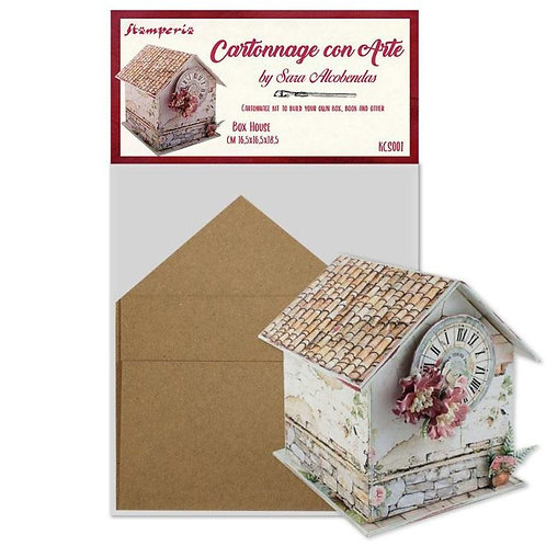 Cartonnage kit stamperia house