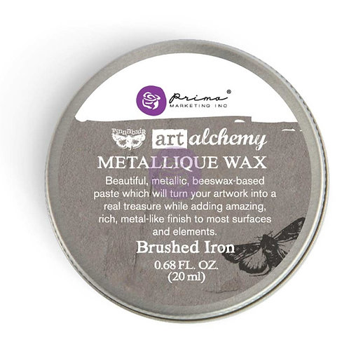 WAX art alchemy Brushed Iron