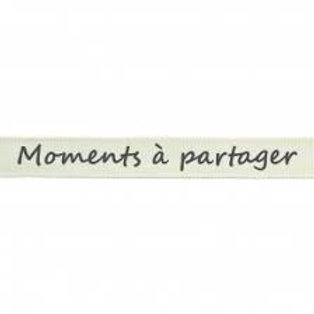 Ruban Moments à partager