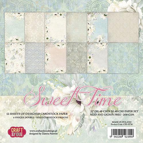 Bloc de papiers Sweet Time