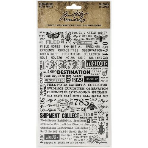 Rub-on Tim Holtz TH94047