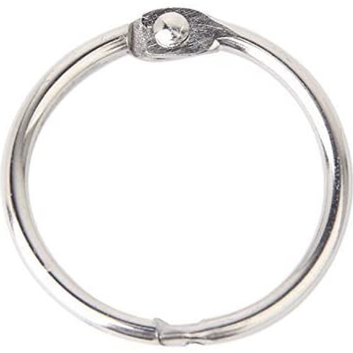 Lot de 6 anneaux 30 mm