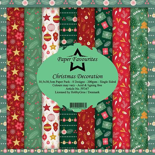 Papiers Paper Favourites 30,5 x 30,5 cm  Christmas Décoration