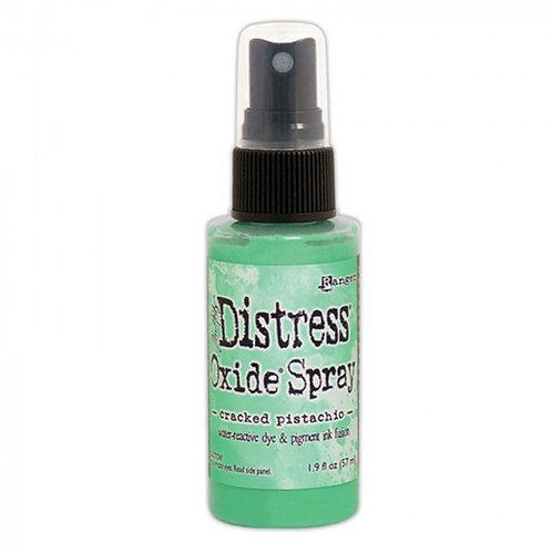 Spray distress Oxide Cracked Pistachio
