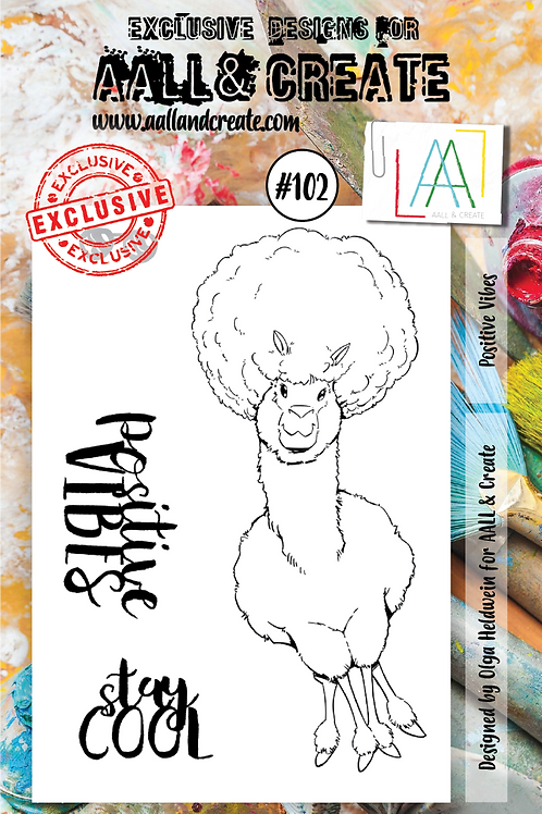 tampon A7 AALL & CREATE N° 102