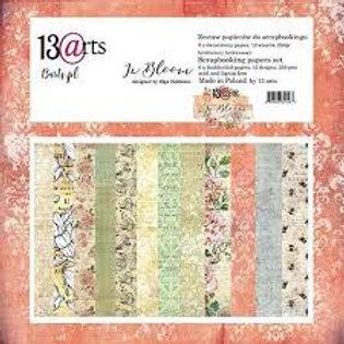 Bloc de papiers In Bloom 30.5cmx 30.5cm