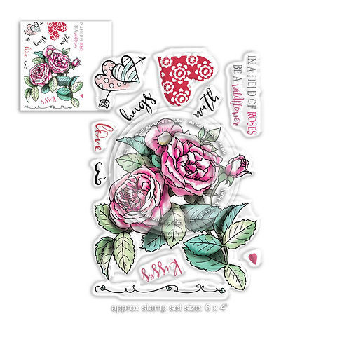 Clear Polka doodles PD8021