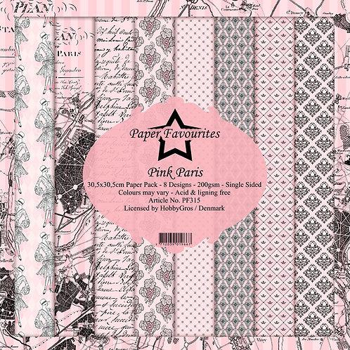 Papier Pink Paris 30.5x30.5cm