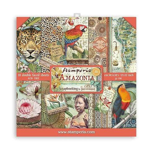 SBBL83 Stamperia Amazonia 30,5 x30, 5 cm