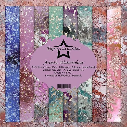 PAPIER 30,5 X 30,5 CM Artisic Watercolour