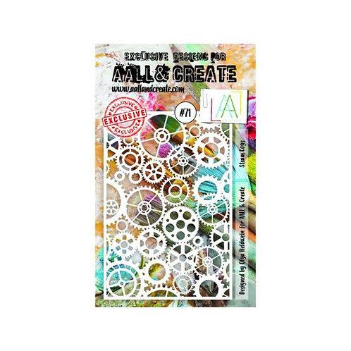 Pochoir AALL & CREATE N° 71
