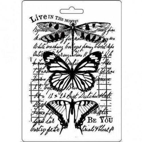 Moule souple duo de papillons