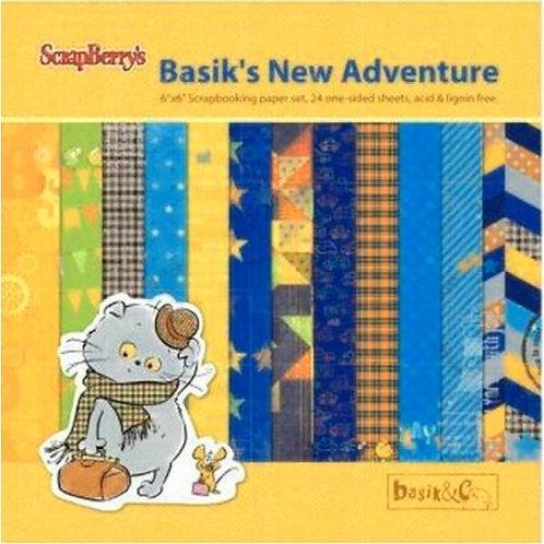 Papier Basik's new adventure 15x15cm