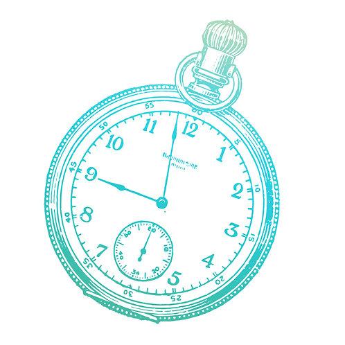 Tampon montre à gousset 6x6
