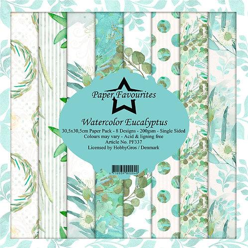 Papiers Paper Favourites 30,5 x 30,5 cm    Eucalyptus
