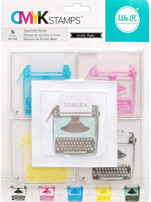 Tampon clear machine à écrire