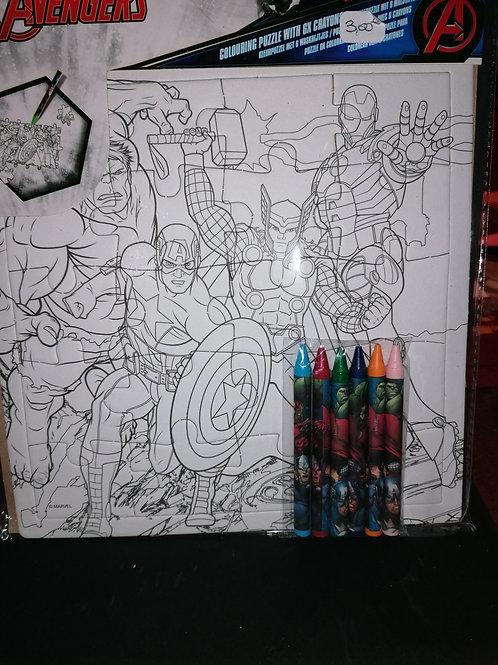 Puzzle héros Avengers