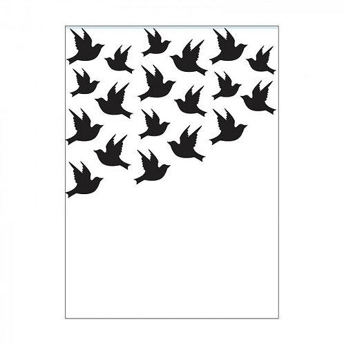 Classeur de gaufrage oiseaux