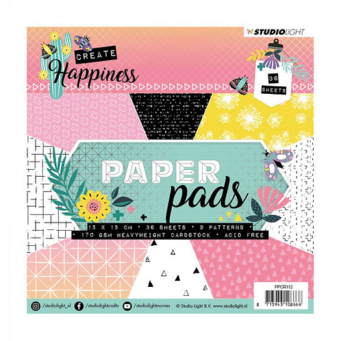Papier studio light happiness 15.2 cm