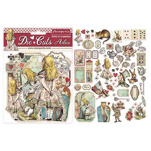 Diecuts Stamperia Alice