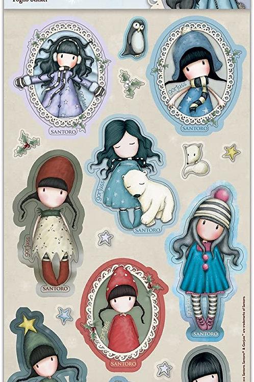 Stickers gorjuss hivernal modèle 2