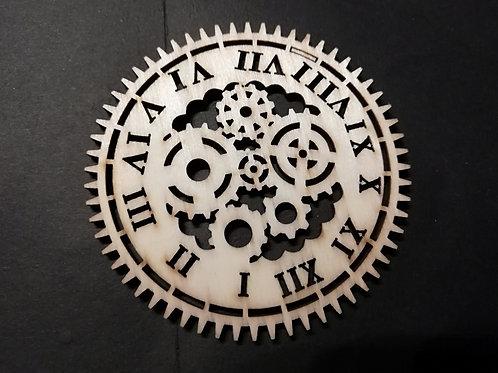 Copie de VENDU À L'UNITÉ Rouage (6) en bois 10 cm