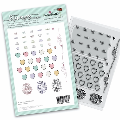 Clear Polka doodles PD8118