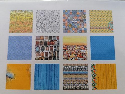 Papier Mediterranean Dreams 15x15cm