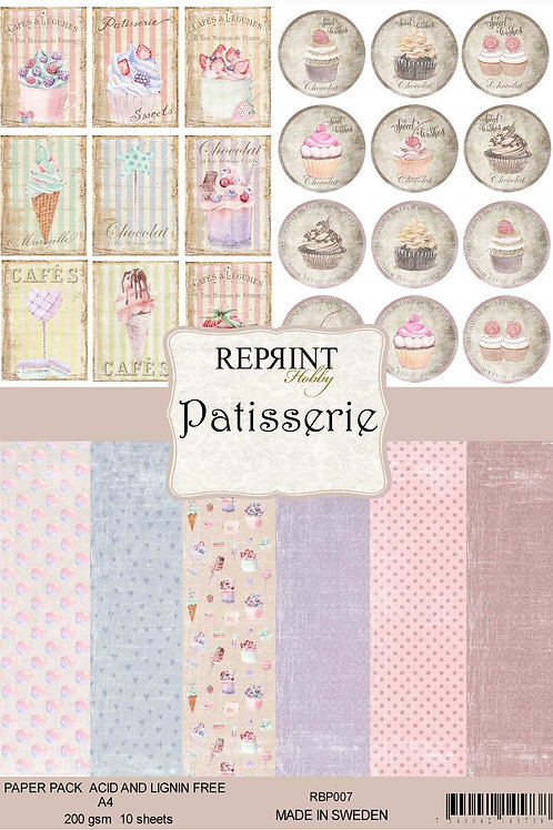 PAPIERS Reprint Patisserie Collection A4 Paper Pack (RBP007)