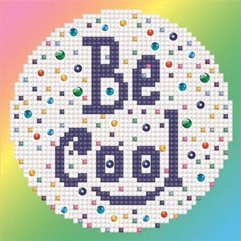 "Kit broderie diamant ""be cool"" Mini tableau"