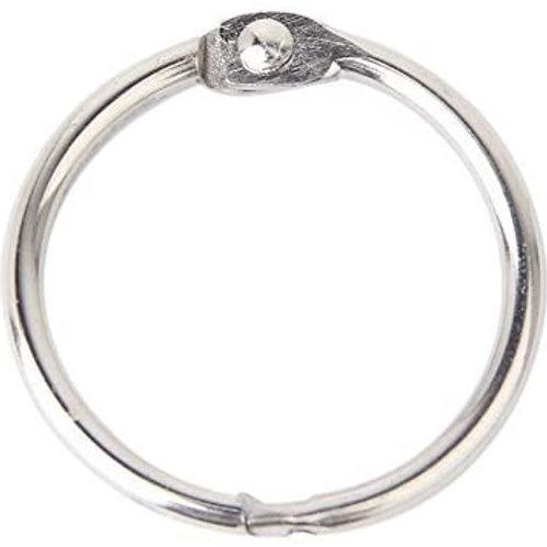 Lot de 6 anneaux 20 mm