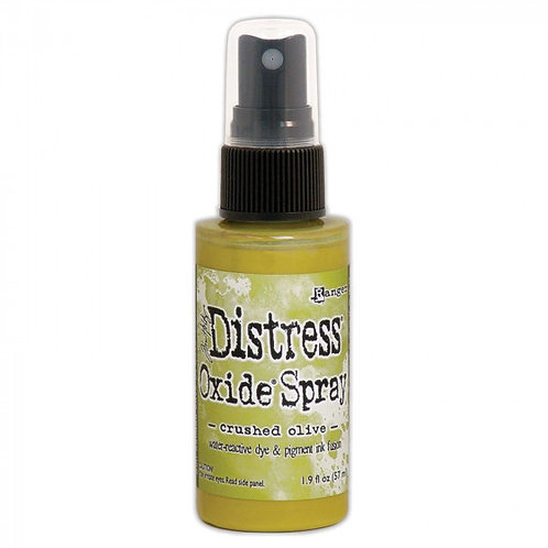 Spray distress Oxide Crushed Olive